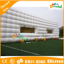 Digital Printed giant inflatable football soccer tents for games