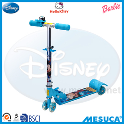 Disney Mickey Shaped Pringting Alluminum 4-Wheel Scooter DC1007-A