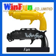 Small Plastic Gun Fan Mini Handheld Fan Hot Sale
