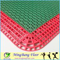 Triangle pattern PP Interlocking sports flooring