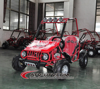 2 seaters 4 wheeler go kart with reverse gear