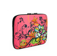 2015 hot sale lightweight colorful printing laptop neoprene case