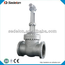Gear Operated A216 WCB Big Size Flange Ends Stem Gate Valve