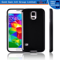 New rubber hard back cover case for samsung s5 back cover, for samsung s5 N9600 TPU back cover case