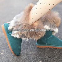 2014 Newest warm Australian sheepskin winter boots brand name winter snow boots for woman