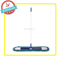 SY3110 The biggest microfiber material metal stick flat mop for cleaning floor