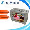 40L 2 Pans Durable Stir Roll Fry Ice Cream Machine (ICM-980)