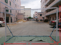 Creative folding and portable soccer goal, footbal goal, football/soccer goal net