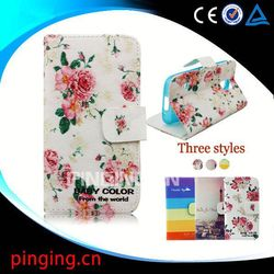 Wholesale cell phone cases color printing leather case for Blackberry Z3