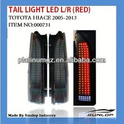 For toyota hiace auto parts tail light #000731 for hiace200up, commuter,van bus kdh200