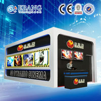 Middle East well popular 5d cinema including the cabin simulation 5d theater