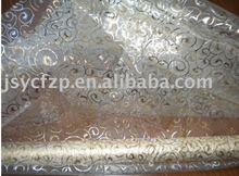 Bronzed organza fabric for curtain/festival decoration