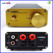 50W High Quality Digital Amplifier For Home Car Business With Metal Material DJ Amplifier Price Cheap