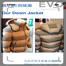 Ultra Light Down Jacket Fabric for Man Jacket Winter/Man Down Jacket/High Quality Velvet Fabric Wholesale