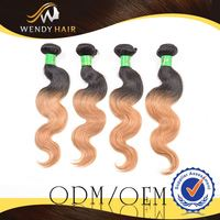 Super a top real rooster feather body wave brazilian hair wefted