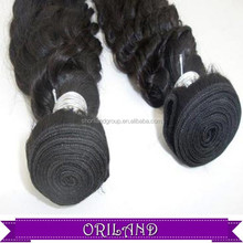 Tangle Free No Shedding No Chemical Remy Indian Kinky Curl Hair