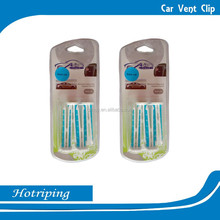 2015 hot sell vent clip car air freshener