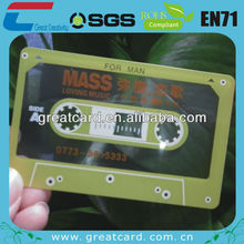 Chinese factory frosted plastic card