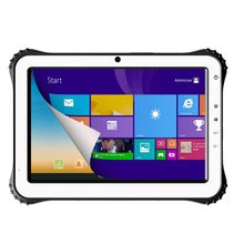 WT10 10 inch rugged tablet windows 8.1 OS RF 13.56MHz Frequency with Magnetic FPC 1D 2D barcode fingerprint ruggedized tablet