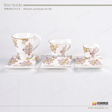 fine bone china manufacturers promotional A-B grade quality coffee mugs