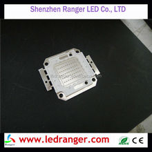 10mm width Integrated High Power advertising LED Chips 30-34V, 30w, 50W, UV LED Chips, 390nm, 385nm