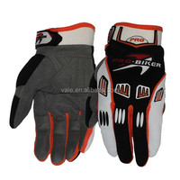 Wear fashion new design useful sport motorcycle glove from vale