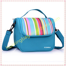 Thermal cooler light ice picnic colourful lunch bag