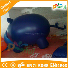 inflatable blue pig / inflatable animal model /inflatable pig