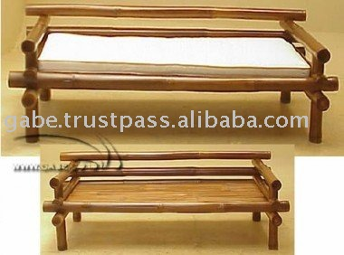 Daybed bamboo rustic - Muebles de bambu ...