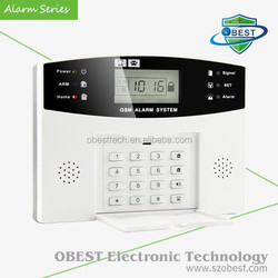 Cheap Security Alarm System with 7-Wired Zone