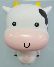 white cow toy,poliresin toy