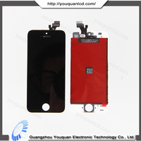 Hot selling front lcd assambly for iphone 5 touch screen digitizer
