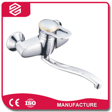 wall mounted single lever classical chrome finishing kitchen tap