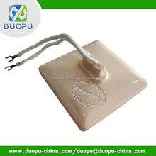Latest Preheating & vulcanizing of rubber Sheets IR ceramic heating element