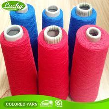 Cnlucky fábrica oe reciclado de tela de hilo por mayor para que hace punto tela / tela de la camiseta