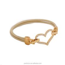 alibaba website fashion jewelry hot new products for 2015 heart lock and key bracelet heart rate bracelet leather bracelets
