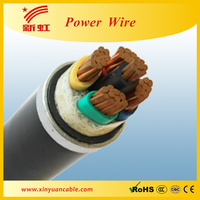 4 core 4mm pvc insulated power cables