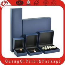 2015 Wholesale New Custom jewelry box &paper jewelry box& jewelry packaging box