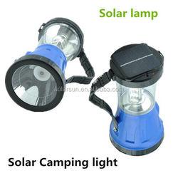 solar camping light with radio dynamo solar lantern