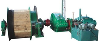 2JTKY-1.6X1.2/26 double drums JTK hydraulic mining winch