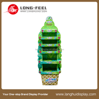 china supplier custom christmas tree cardboard display