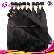 """High quality grade AAAAA 10""""-30"""" virgin human hair weft beijing hair color"""
