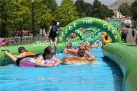 300m Long Inflatable Slip n Slide for Kids and Adults