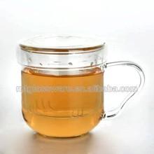 Wholesale funky clear borosilicate glass mini tea pot set
