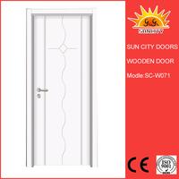Luxury wooden main single door design for villa SC-W071