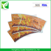 New Design Printed PE Coated Paper Cup Fan With High Quailty