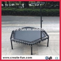 CreateFun top selling safety high jumping trampoline bed 53inch