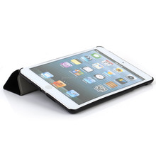 new smart cover magnetic leather stand case for ipad mini 3