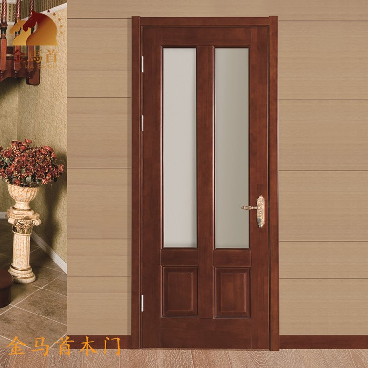 High Quality Interior Doors Wood Frosted Glassinterior Wood Doors