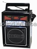 FM radio music player support TF card